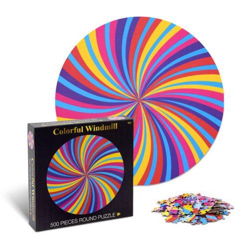 Round Jigsaw Puzzle