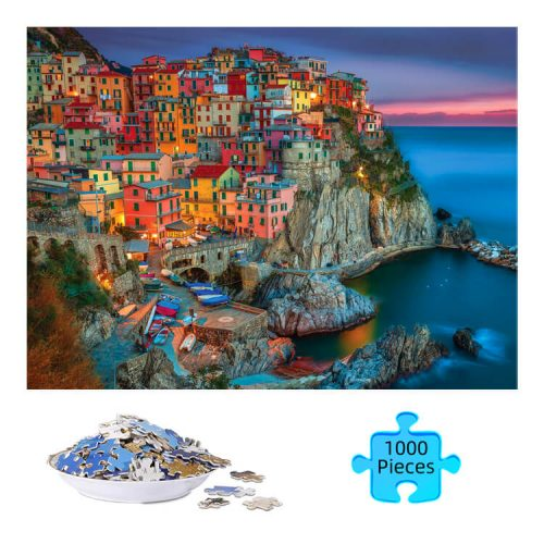 Cinque Terre Jigsaw Puzzle