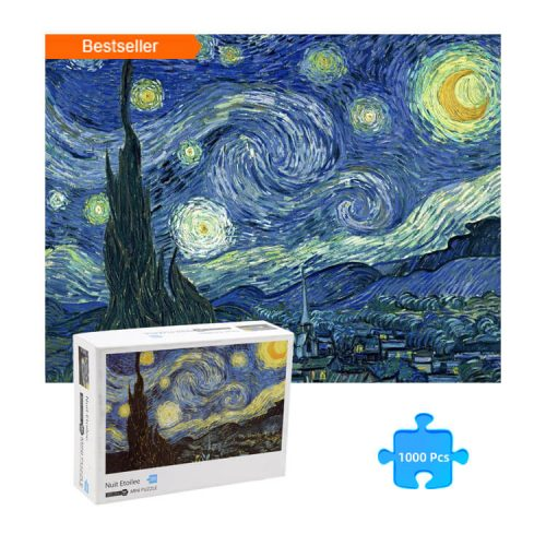 Jigsaw Puzzle Oil Painting The Starry Night by Van Gogh